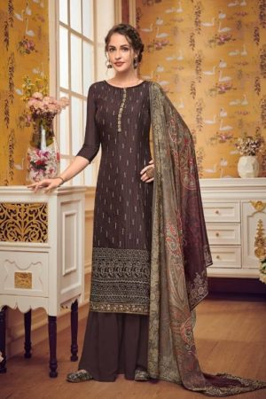 Eba Lifestyle Presents Hurma 28 Pure Viscose Chinon Sequence Embroidery Work Salwar Suit 1150