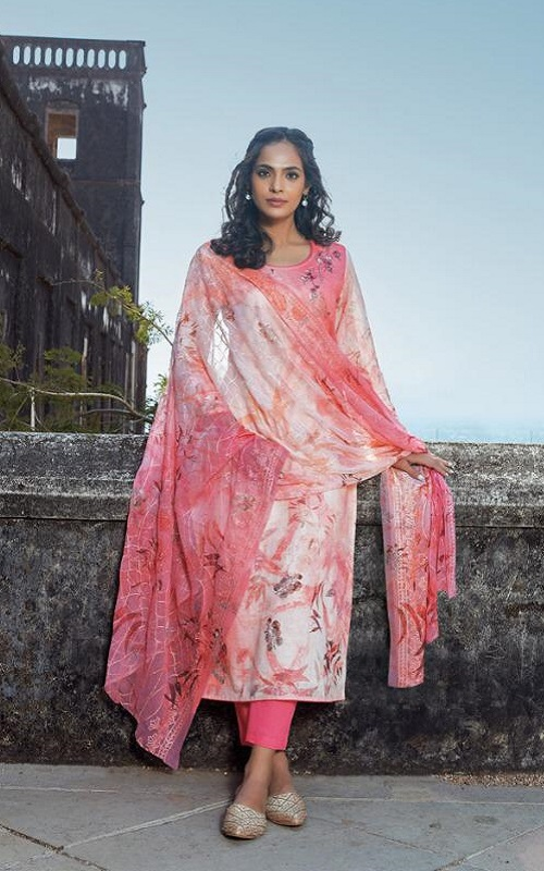 Omtex Presents Acira Rui Cotton With Embroidery designer Unstitched Ladies Salwar Suit 1171