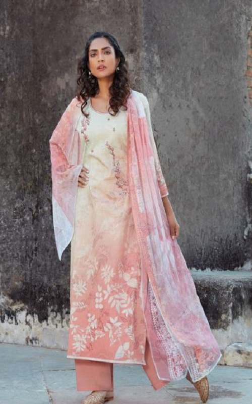 Omtex Presents Acira Rui Cotton With Embroidery designer Unstitched Ladies Salwar Suit 1174