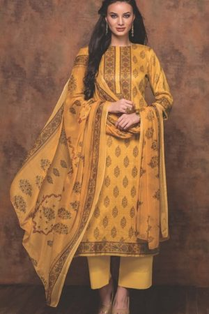Rivaa Bansuri Presents Glace Cotton Printed Unstitched Ladies Salwar Kameez 1435 B