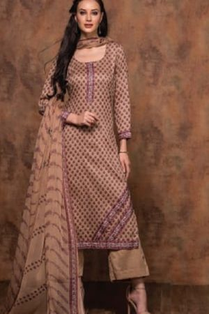 Rivaa Bansuri Presents Glace Cotton Printed Unstitched Ladies Salwar Kameez 1436 A