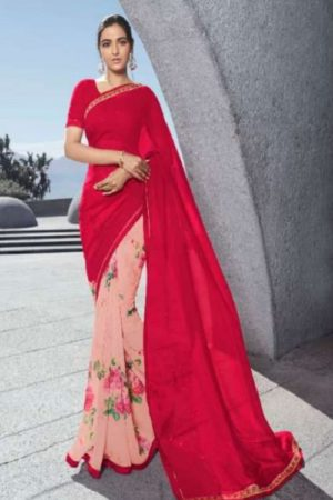 Vinay Fashion Presents Sheesha Starwalk 53 Georgette With Work Designer Saree 22383