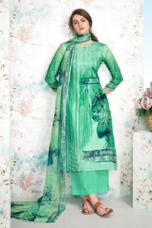 Maadhav Synthetic Elite Pure Jam Nagetive Prints With Designer Work Salwar Suit 17504