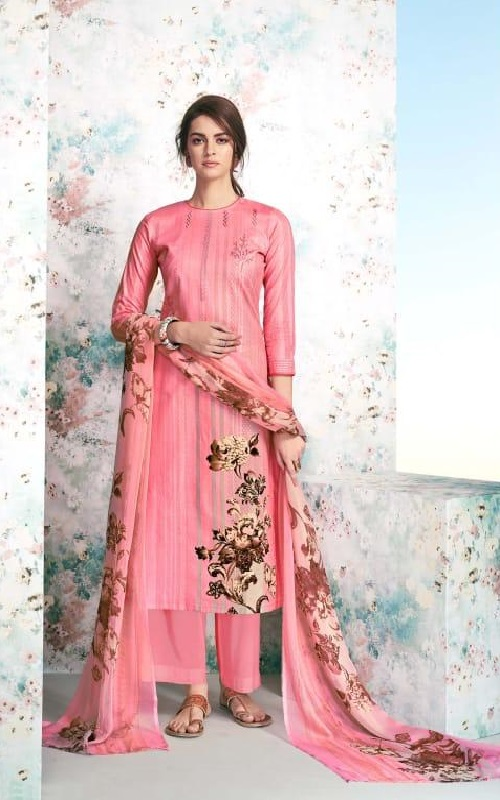 Maadhav Synthetic Elite Pure Jam Nagetive Prints With Designer Work Salwar Suit 17505