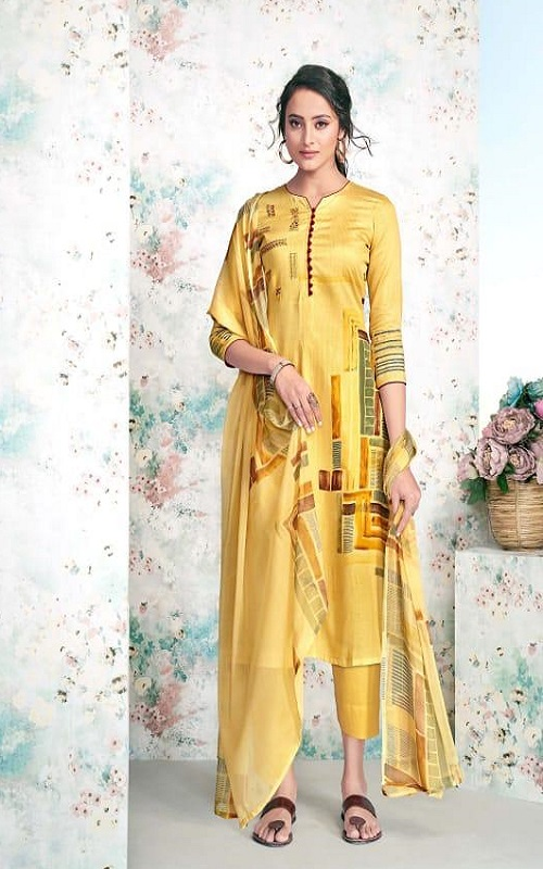 Maadhav Synthetic Elite Pure Jam Nagetive Prints With Designer Work Salwar Suit 17506