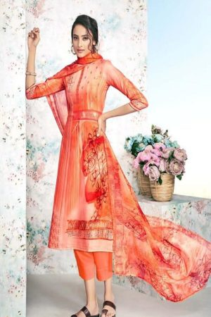 Maadhav Synthetic Elite Pure Jam Nagetive Prints With Designer Work Salwar Suit 17508
