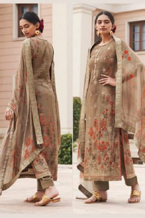 Sajjan Relssa Tansui 3 Designer Ladies Tansui Silk Salwar Suit Collection 45001