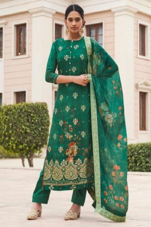 Sajjan Relssa Tansui 3 Designer Ladies Tansui Silk Salwar Suit Collection 45004