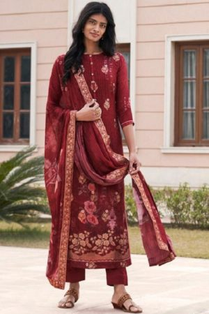 Sajjan Relssa Tansui 3 Designer Ladies Tansui Silk Salwar Suit Collection 45005