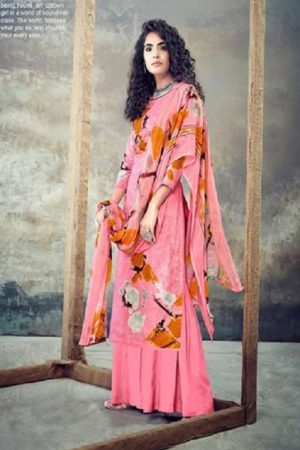Belliza Designer Studio Presents Florals 2 Pure Cotton Summer Ladies Suits Collection 433-007