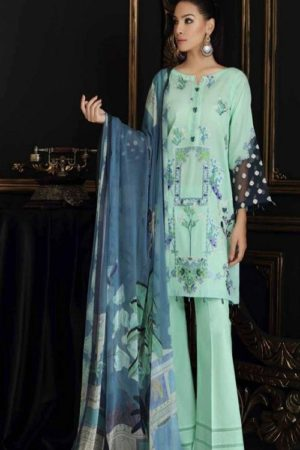 Buy Kaara Charizma Swissmiss 2 Pure Cotton With Shiffli and Heavy Embroidery Suit 2001