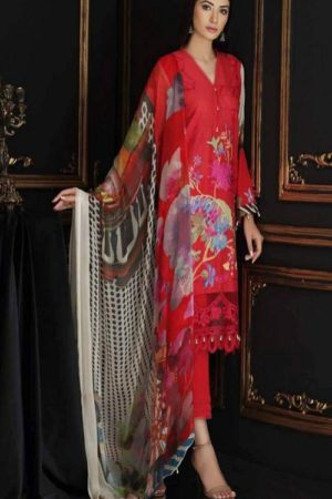 Buy Kaara Charizma Swissmiss 2 Pure Cotton With Shiffli and Heavy Embroidery Suit 2003