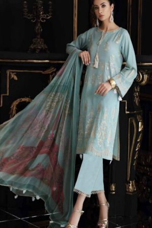 Buy Kaara Charizma Swissmiss 2 Pure Cotton With Shiffli and Heavy Embroidery Suit 2006