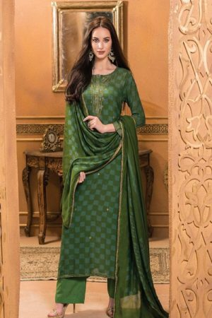 Buy Golok S Kashmakash Printed ON Muslin with Sequence and Hand work Suit 976