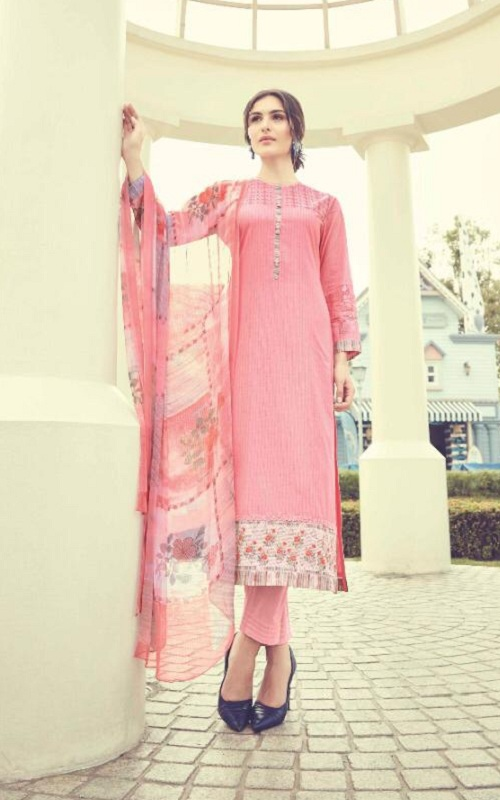 Sahiba Presents Itrana Kiara Cambric Digital Print With Embroidery Salwar Suit 1067