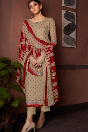 AT Presents Afra Pure Pashmina Designer Printed Salwar Suit 20003
