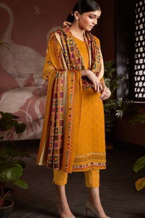 AT Presents Afra Pure Pashmina Designer Printed Salwar Suit 20004