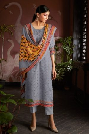 AT Presents Afra Pure Pashmina Designer Printed Salwar Suit 20009