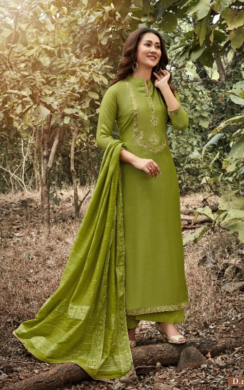 Bela Fashion Presents Karvaan Heavy Muslin with Work Salwar Kameez 1194
