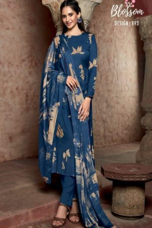 AGOG Sahiba TM Blossom Pashmina Digital Print With Embroidery Suit 893