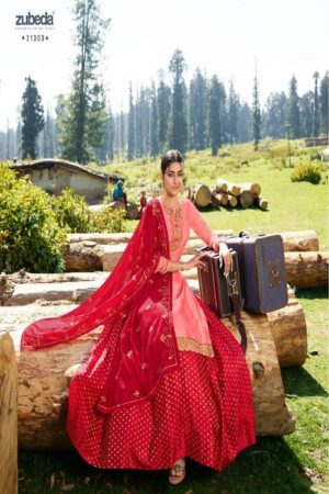 AGOG Zubeda Aahana Satin Georgette With Embroidery Suits 21303