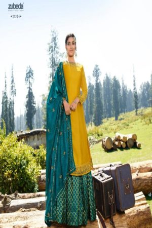 AGOG Zubeda Aahana Satin Georgette With Embroidery Suits 21304
