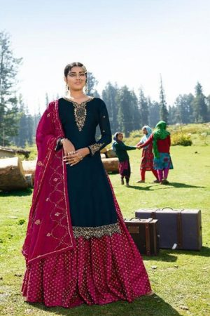 AGOG Zubeda Aahana Satin Georgette With Embroidery Suits 21305