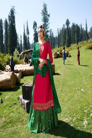 AGOG Zubeda Aahana Satin Georgette With Embroidery Suits 21308