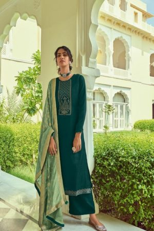 Deepsy Suits Monalisa Self Woven Pashmina With Self Embroidery Suits 81003