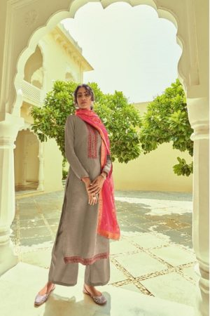 Deepsy Suits Monalisa Self Woven Pashmina With Self Embroidery Suits 81004