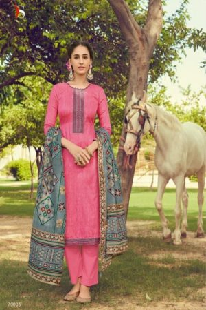 Deepsy Suits Panghat 10 Pure Pashmina Print With Heavy Self Embroiery Suits 70003