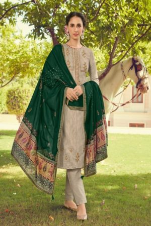 Deepsy Suits Panghat 10 Pure Pashmina Print With Heavy Self Embroiery Suits 70004