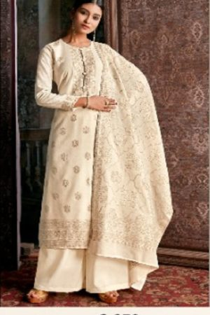 Kalki Cinderella Femina Pure Handloom Weaving Pashmina Designer Handloom With Jacquard Weaving Desgins suits C-370