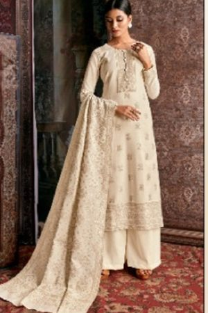 Kalki Cinderella Femina Pure Handloom Weaving Pashmina Designer Handloom With Jacquard Weaving Desgins suits C-373