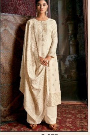 Kalki Cinderella Femina Pure Handloom Weaving Pashmina Designer Handloom With Jacquard Weaving Desgins suits C-377