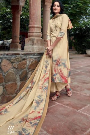 Sahiba TM Heer Winter Collection Pashmina Print With Embroidery Suits 394
