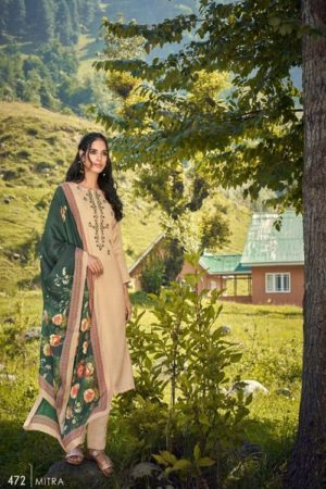 AGOG Sahiba TM Mitra Pashmina Digital Print With Embroidery Suits 472