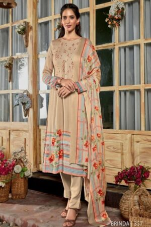 AGOG Sahiba TM Brinda Pashmina Digital Print With Embroidery Suit 357