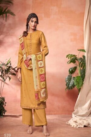 AGOG Sahiba TM Ekkam Pashmina Digital Print With Embroidery Suits 539