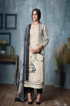 AGOG Sahiba TM Shahi Poshak Pashmina Digital Print With Mirror Work Suit 167