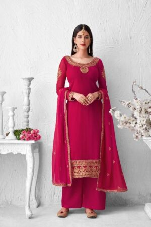 Aashirwad Saffron Summer Collection Real Georgette With Work Salwar Suits 8351 - Copy
