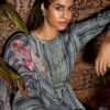 prm trendz aline 2 : pure jam cotton with fancy embroidery work with digital print 3690
