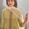 JAYVIJAY PRINTS: pure cotton lining with embroidery work 5668