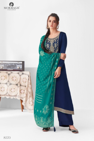AASHIRWAD MOR BAGH SANGEET: premium silk with embroidery 8370