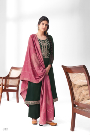 AASHIRWAD MOR BAGH SANGEET: premium silk with embroidery 8371